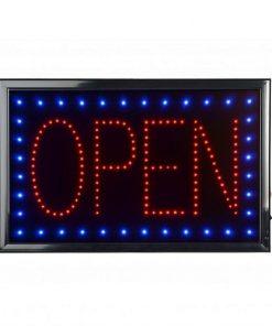 Rectangular LED Open Sign