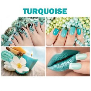 Turquoise Canvas Murals