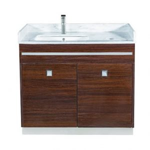 """U"" Single Sink With Faucet"