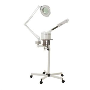 Aries Facial Steamer and Mag Lamp