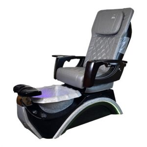 Dover 3D Silver Spa Pedicure Chair