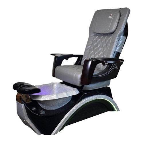 Dover 3D Silver Spa Pedicure Chair