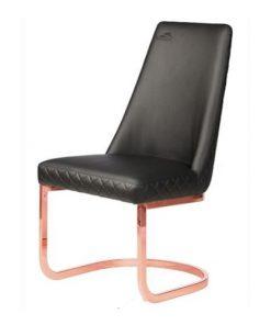 8109RG Rose Gold Customer Chair Diamond