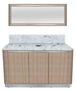 Bellagio I Double Sink Cabinet