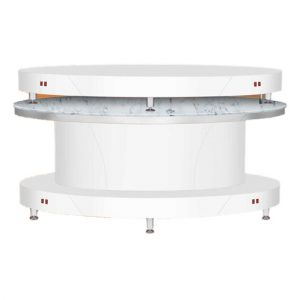Bellagio II Dryer Oval Snow White