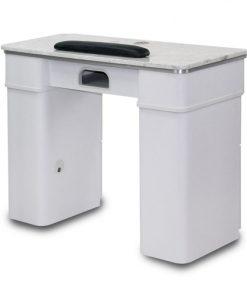 White Sonoma Single Nail Table