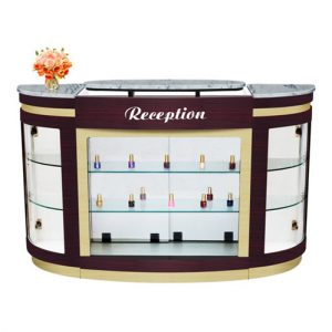 Advance Reception Counter – White Stone Marble