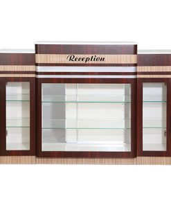 C-394W2 Reception Counter – White Marble