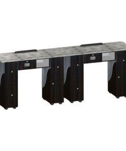 Custom Made Double Nail Table T105