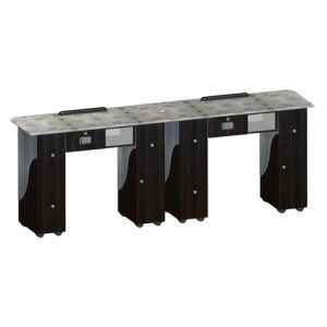 Custom Made Double Nail Table T105