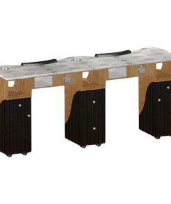 Custom Made Double Nail Table T105G