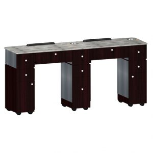 Custom Made Double Nail Table T6