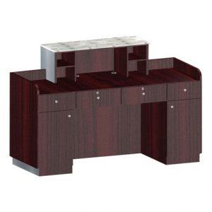 Custom Made Reception Desk C65
