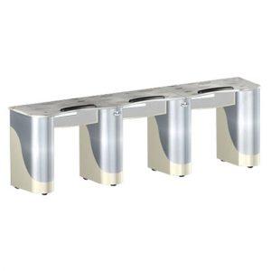Custom Made Triple Nail Table T105
