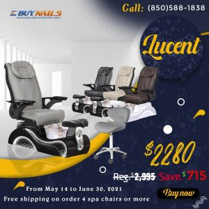 Lucent Pedicure Spa Chair New