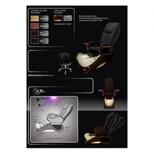 Bijou Pedicure Spa Chair