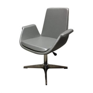 Lotus Customer Chair Silver