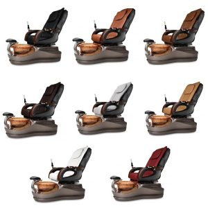 Cleo Se Spa Pedicure Chair Collection Chocolate