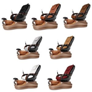 Cleo Se Spa Pedicure Chair Collection Gold