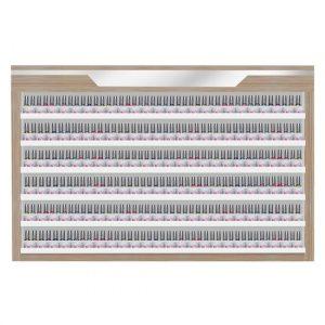 Nova II Powder & Polish Rack (Double Shelves)