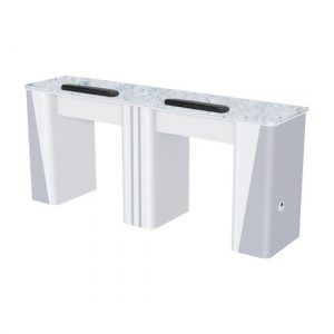 Nova I Double Manicure Table (With Exhaust)