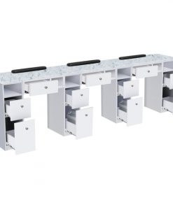 Nova I Triple Manicure Table