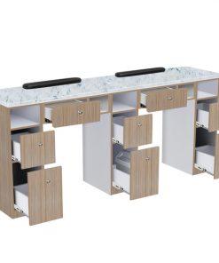Nova II Double Manicure Table